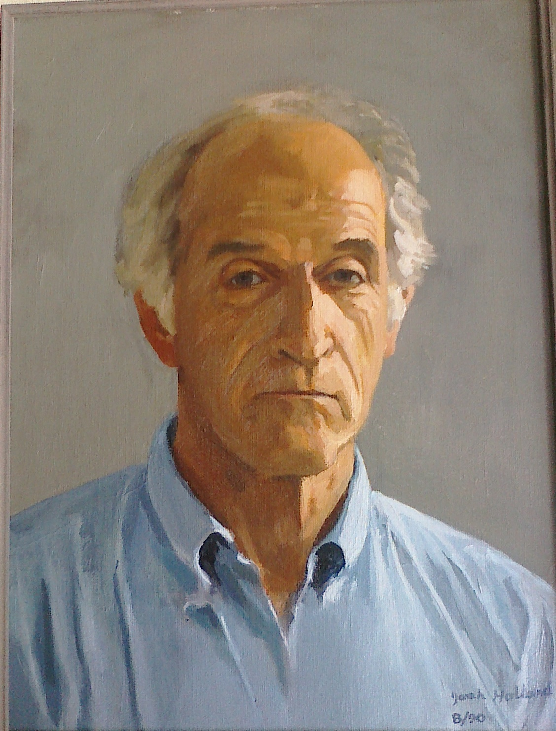 JZH 1990 Self Portrait, Oil;Josh Holland